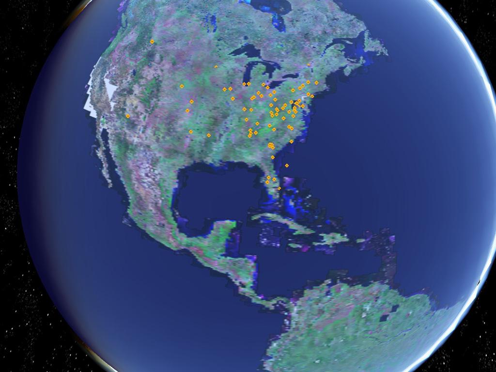 4D Virtual Globe CATT Lab