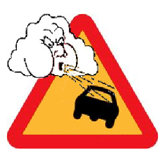 Figure 11: High wind warning