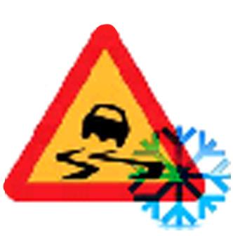 Figure 12: Icy conditions.